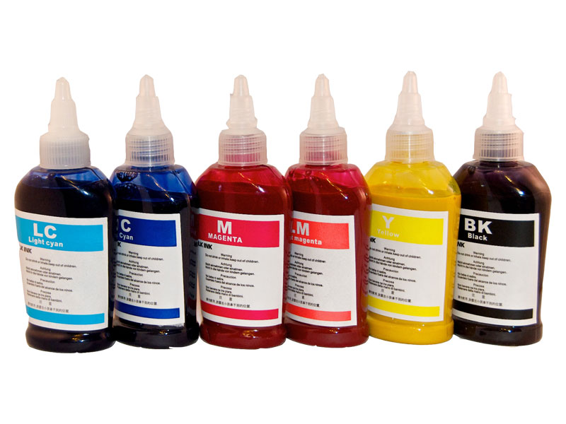 Kit cerneala INK DYE HP 6 culori